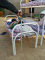 Металлическая кровать двухъярусная
