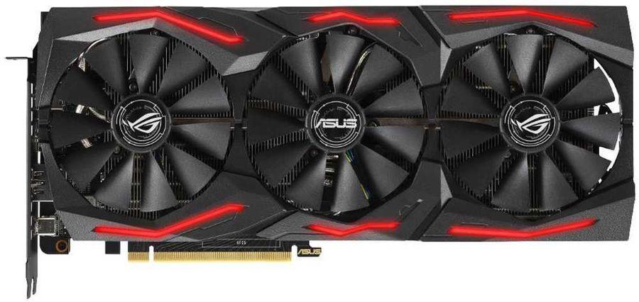 Видеокарта ASUS GeForce RTX 2060S GDDR6 8GB (ROG-STRIX-RTX2060S-A8G-GAMING)