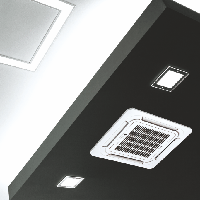 Кондиционер кассетного типа Midea MCA3 12HRN1, фото 2