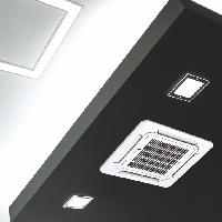 Кондиционер кассетного типа Midea MCA3 24HRN1, фото 2