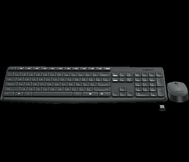 Клавиатура  мышь Logitech MK235, Black  (920-007948)