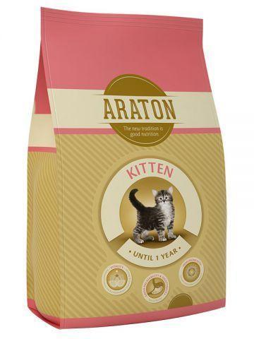 Корм Araton Kitten для молодых кошек - 15 кг