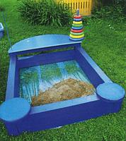 Как выбрать детскую песочницу для дачи
