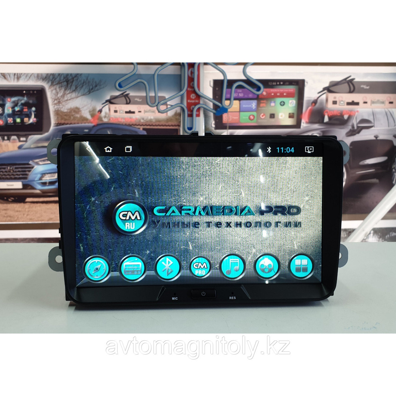 Магнитола CarMedia PRO Volkswagen Sirocco 2014-2017