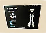 Аккумуляторная машинка для стрижки Nikai, фото 5