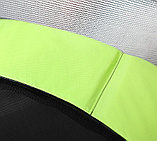ARLAND Батут 8FT с внешней страховочной сеткой и лестницей (Light green), фото 9