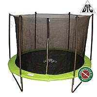 Батут с сеткой DFC Jump 8ft складной (apple-green)