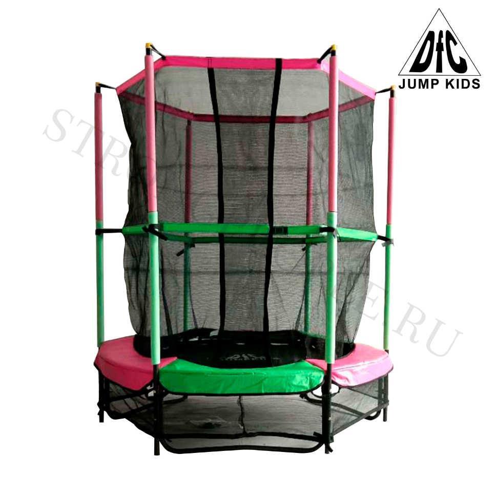 "Батут DFC Jump Kids 55"" (green-pink)"