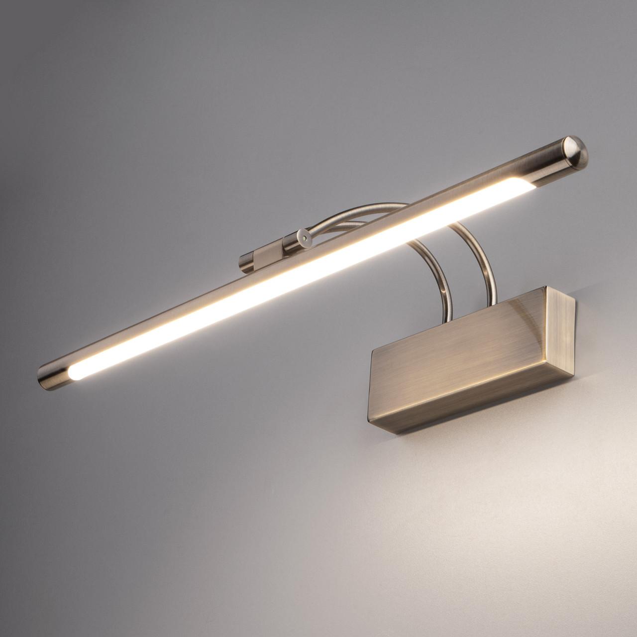 MRL LED 10W 1011 IP20 /Светильник настенный светодиодный Simple LED бронза