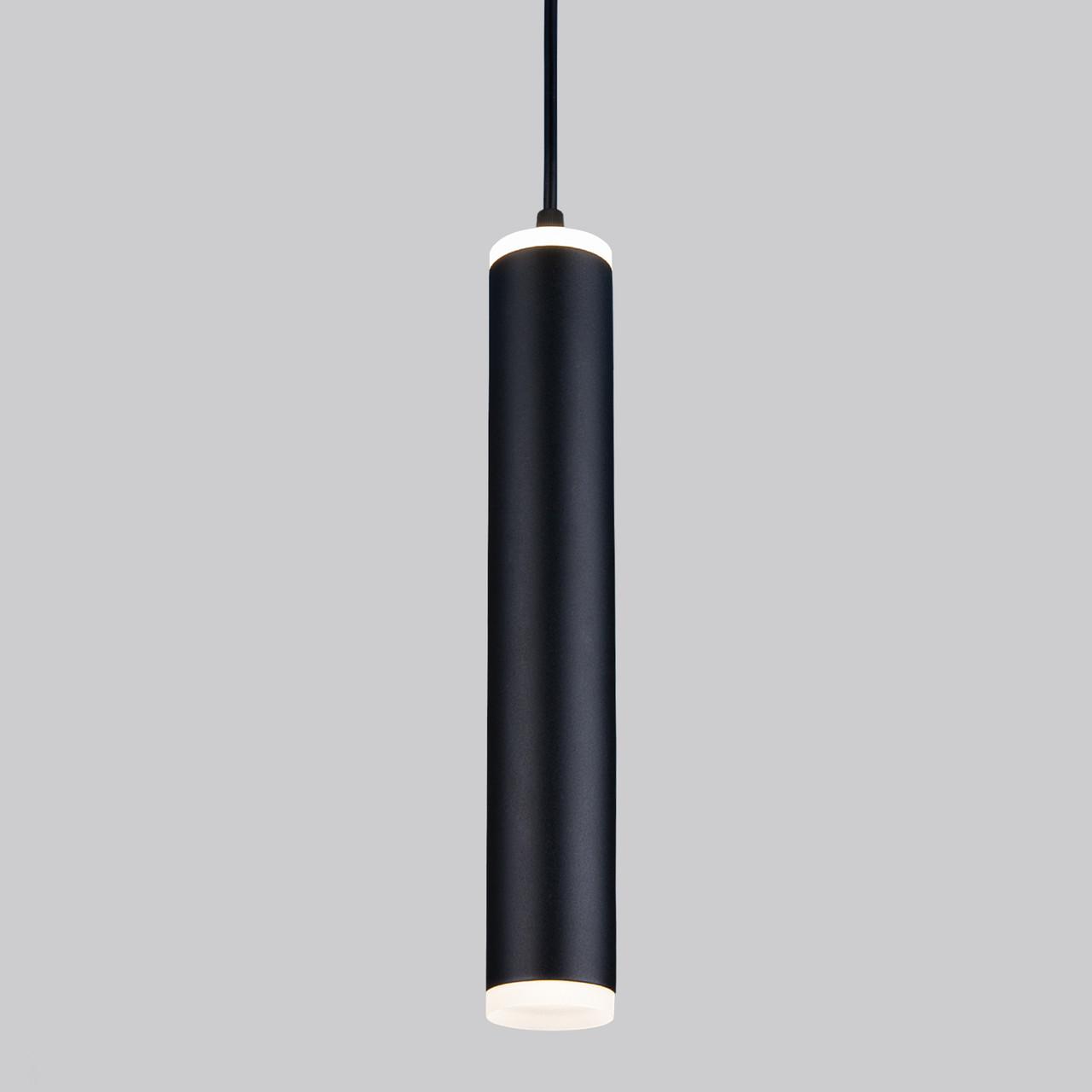 DLR035 12W 4200K /Светильник светодиодный стационарный черный матовый