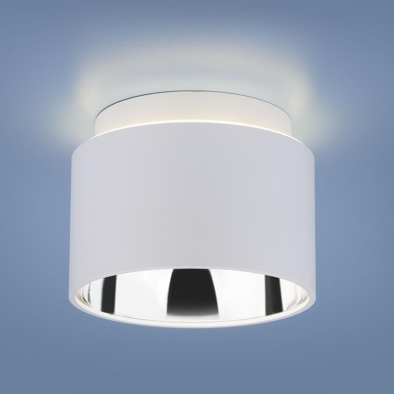 1069 GX53 / Светильник накладной WH белый матовый