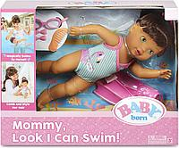 "Baby Born кукла интерактивная ""Я умею плавать"" Беби Борн, фото 1"