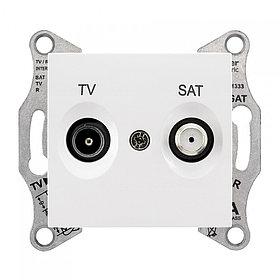 Розетка оконечная, белая TV/SAT SDN3401621