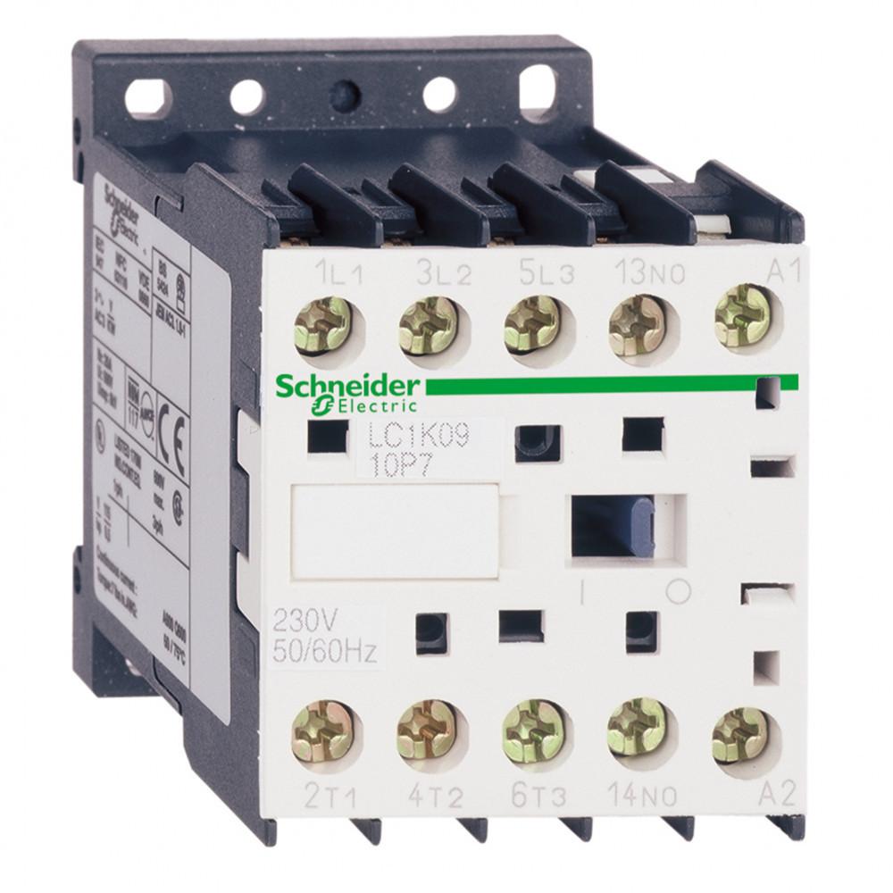 Контактор К 3Р, 9А, НЗ, 220V 50/60ГЦ огран /LC1K0901M72/