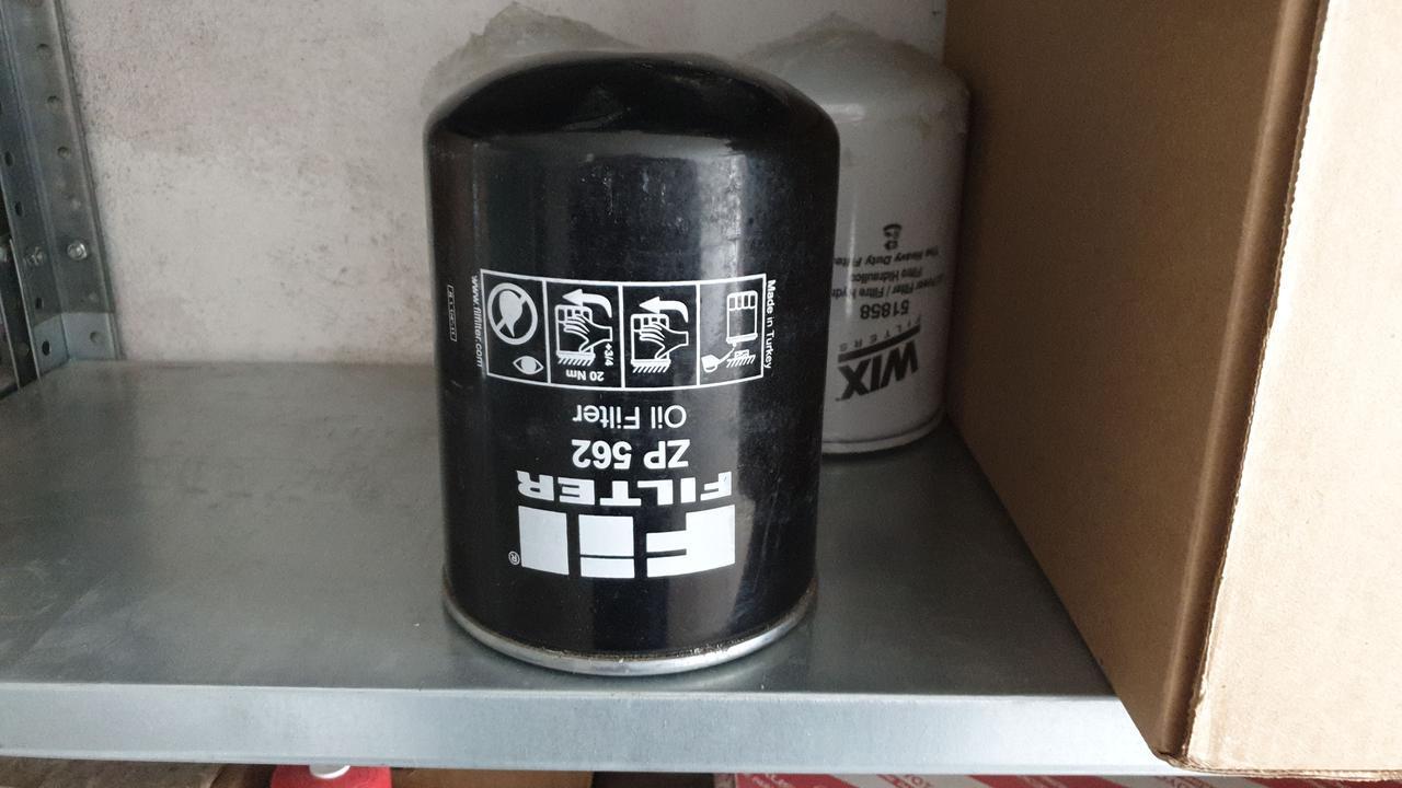 D128/H180(1.1/4-11)  FIL FILTER ZP 562 Масляный фильтр