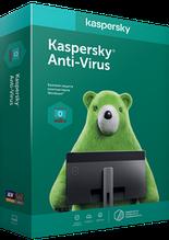 Антивирус Kaspersky Anti-Virus, Базовая защита на 1 год для 2 ПК