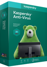 Антивирус Kaspersky Anti-Virus, Базовая защита на 1 год для 2 ПК, продление
