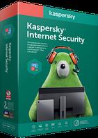 Антивирус Kaspersky Internet Security на 1 год для 2 ПК