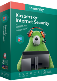 Антивирус Kaspersky Internet Security на 1 год для 5 ПК