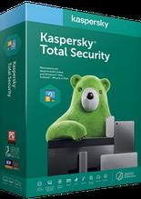 Антивирус Kaspersky Total Security на 1 год для 3 ПК