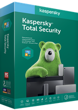 Антивирус Kaspersky Total Security на 1 год для 3 ПК, продление