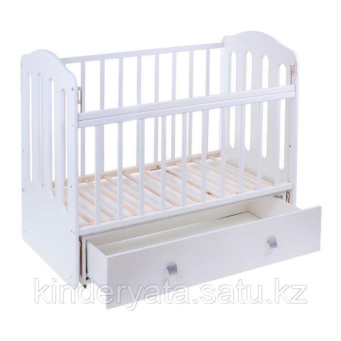 Детская кроватка ВДК Чудо с маятником, с ящиком