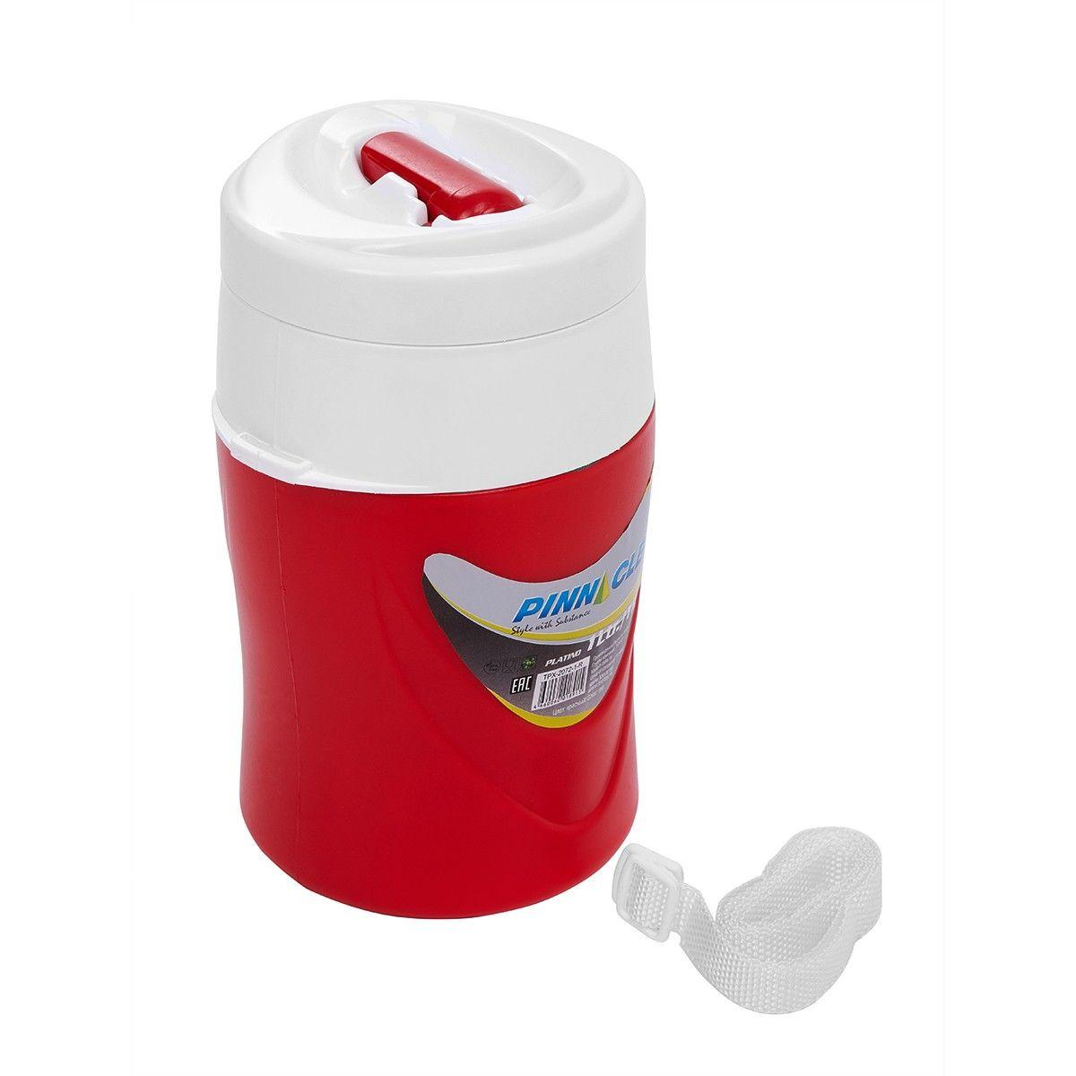 Изотерм. контейнер для жидкости platino 1л красный tpx-2072-1-r pinnacle tr-212768 - фото 2