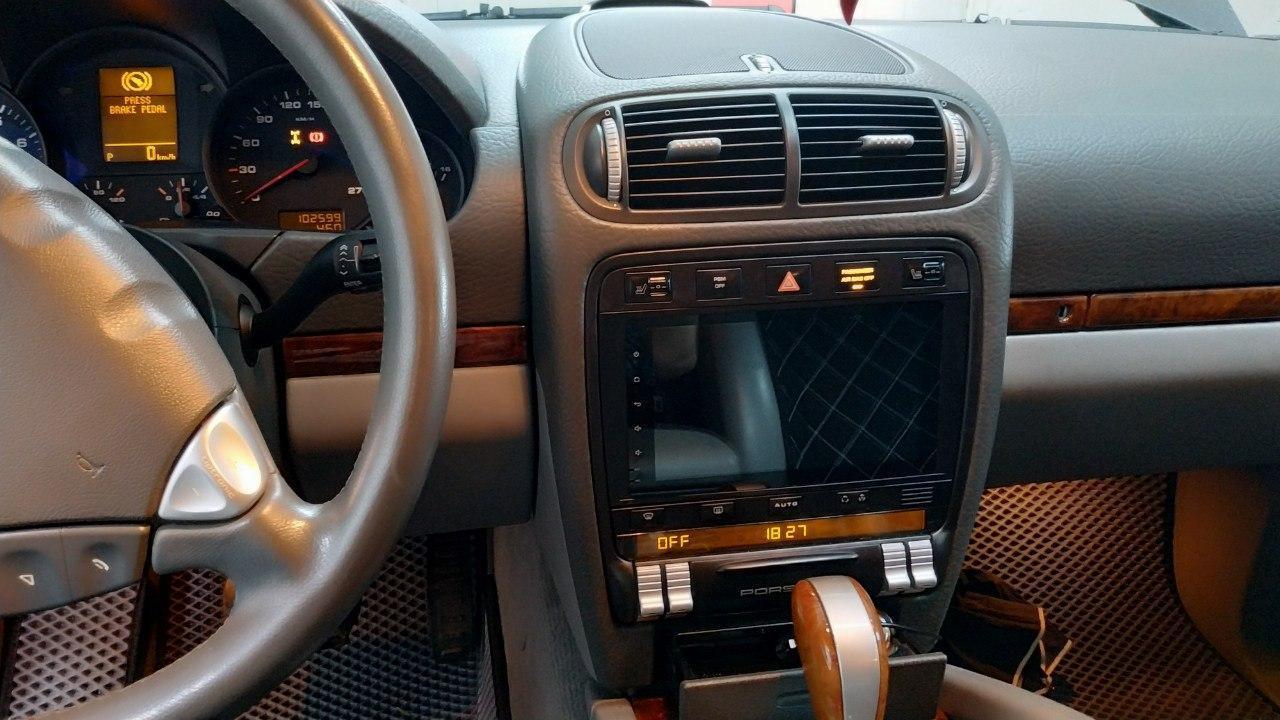 Магнитола Porsche Cayenne Android