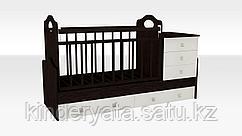 Кроватка трансформер VDK INFANZIA с пеленальным столиком