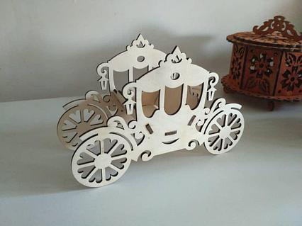 "Тойбастар / Коробочка для сладостей ""Карета"""