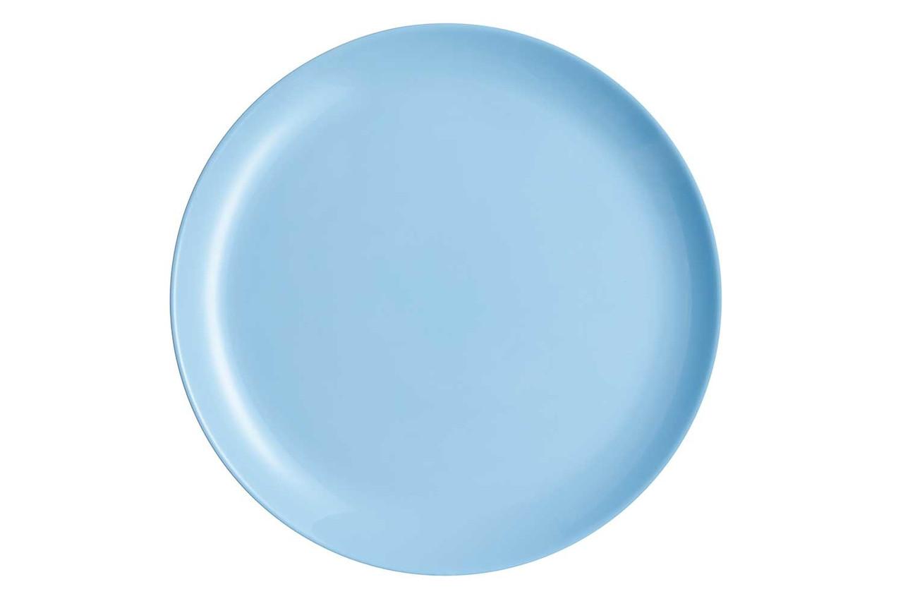 Тарелка обеденная 25 см Luminarc Diwali Light Blue (P2610)