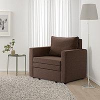 ВАТТВИКЕН Кресло-кровать, лерхага коричневый, лерхага коричневый, фото 1