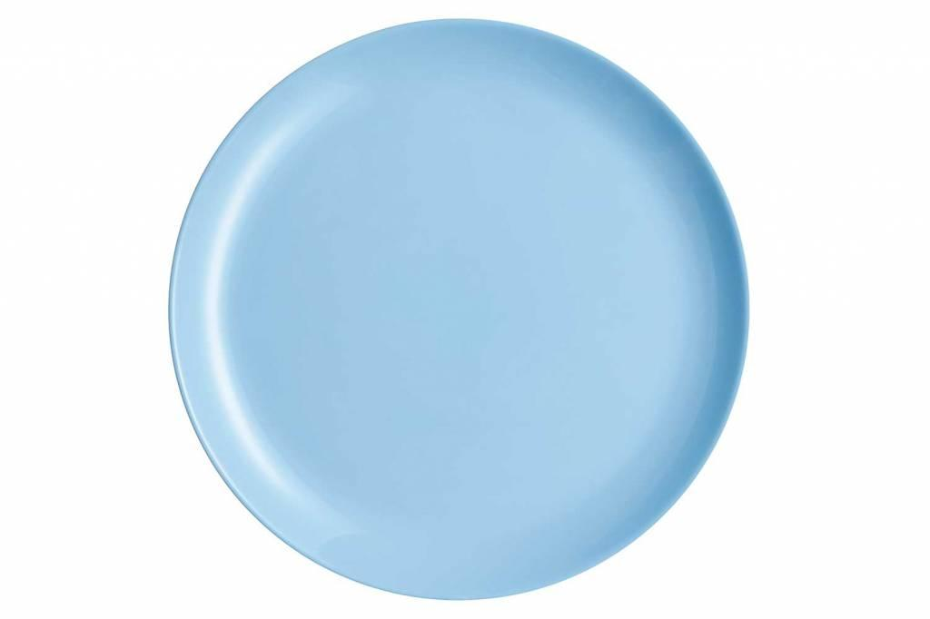 Тарелка подставная 27 см Luminarc Diwali Light Blue (P2015)
