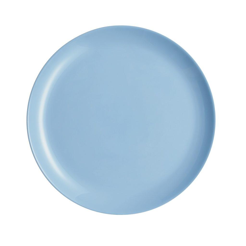Тарелка десертная 19 см Luminarc Diwali Light Blue (P2612)