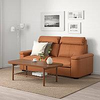 ЛИДГУЛЬТ 2-местный диван-кровать, Гранн/Бумстад золотисто-коричневый, фото 1