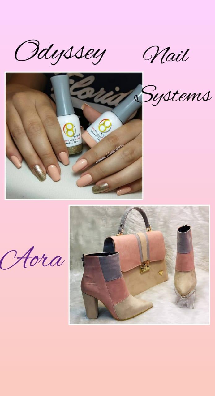 Гель лак aora Odyssey Nails Systems zt02, qh04
