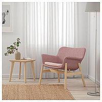 ВЕДБУ Кресло, Гуннаред светлый коричнево-розовый, Гуннаред светлый коричнево-розовый, фото 1