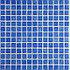 Мозаика стеклянная однотонная Ezarri Niebla 2505 для бассейна, фото 2