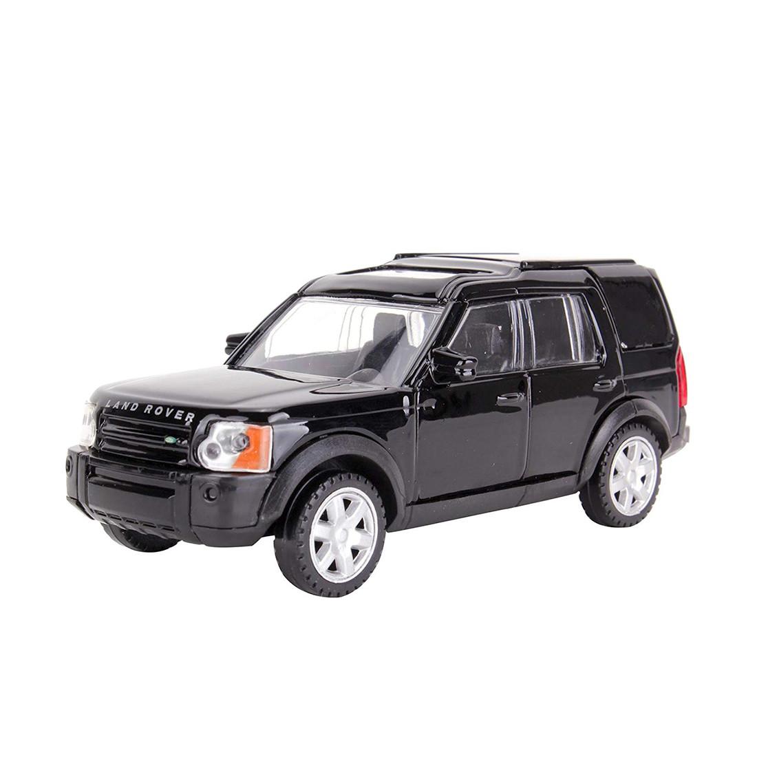 Металлическая машинка RASTAR 36700B Land Rover Discovery 3 (11 см, Black)