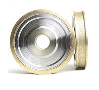 Круг алмазный периферийный 10мм, 150х22мм, зерно 240 (еврокромка: прямой торец, миллиметровые фаски)