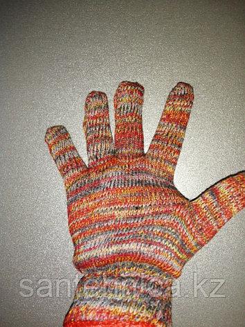 Перчатки х/б цветные, фото 2