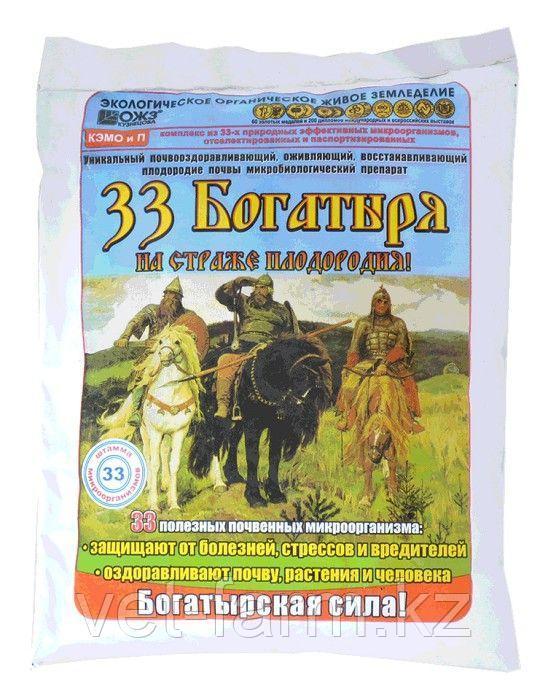 33 Богатыря почвооздоравливающий микробиологический препарат 1 литр