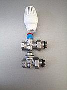 Комплект термостатический для радиатора Ду20 прямой