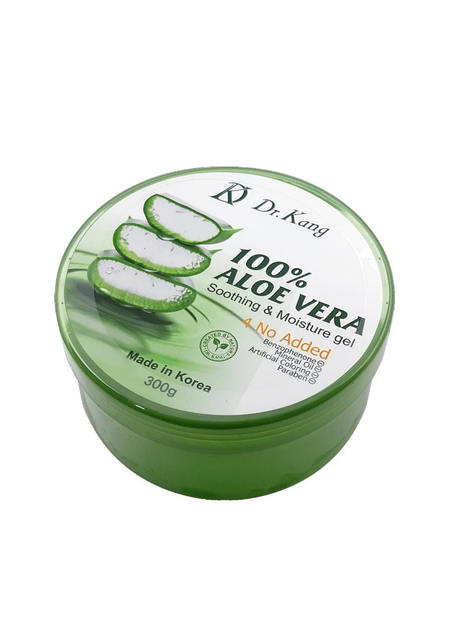 DR KANG Soothing Gel Aloe Vera 100% Универсальный Увлажняющий Гель Алоэ Вера 300 мл.