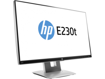 "Монитор HP W2Z50AA EliteDisplay E230t 23"" Touch Monitor 1920x1080@60 Hz, 7ms, 0.265 mm, 1000:1 (5000000:1), 17"