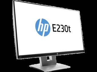 "Монитор HP W2Z50AA EliteDisplay E230t 23"" Touch Monitor 1920x1080@60 Hz, 7ms, 0.265 mm, 1000:1 (5000000:1), 17"