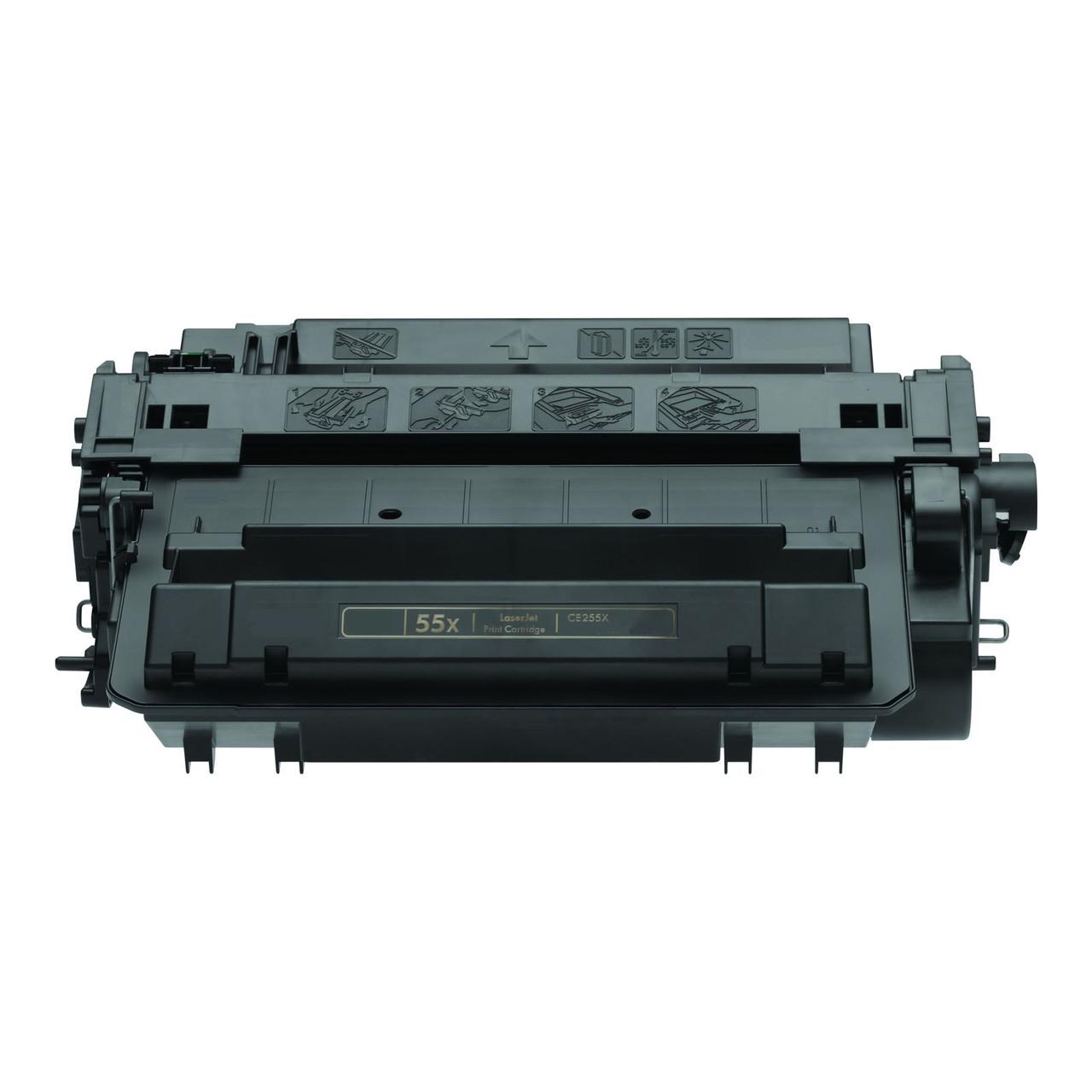 Remanufactured HP CE255X Black Toner Cartridge