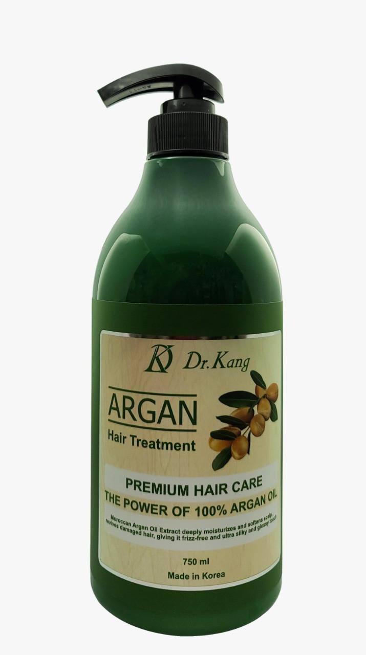 DR. KANG ARGAN PREMIUM HAIR TREATMENT Бальзам-маска для волос Премиум-класса с Аргановым маслом 750 мл