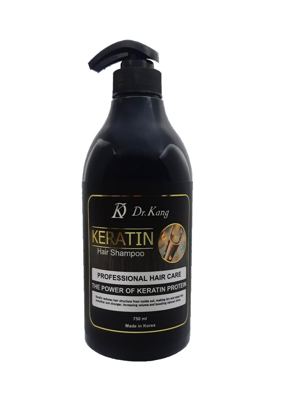 DR. KANG KERATIN PROFESSIONAL HAIR SHAMPOO – Профессиональный шампунь с Кератином 750 мл