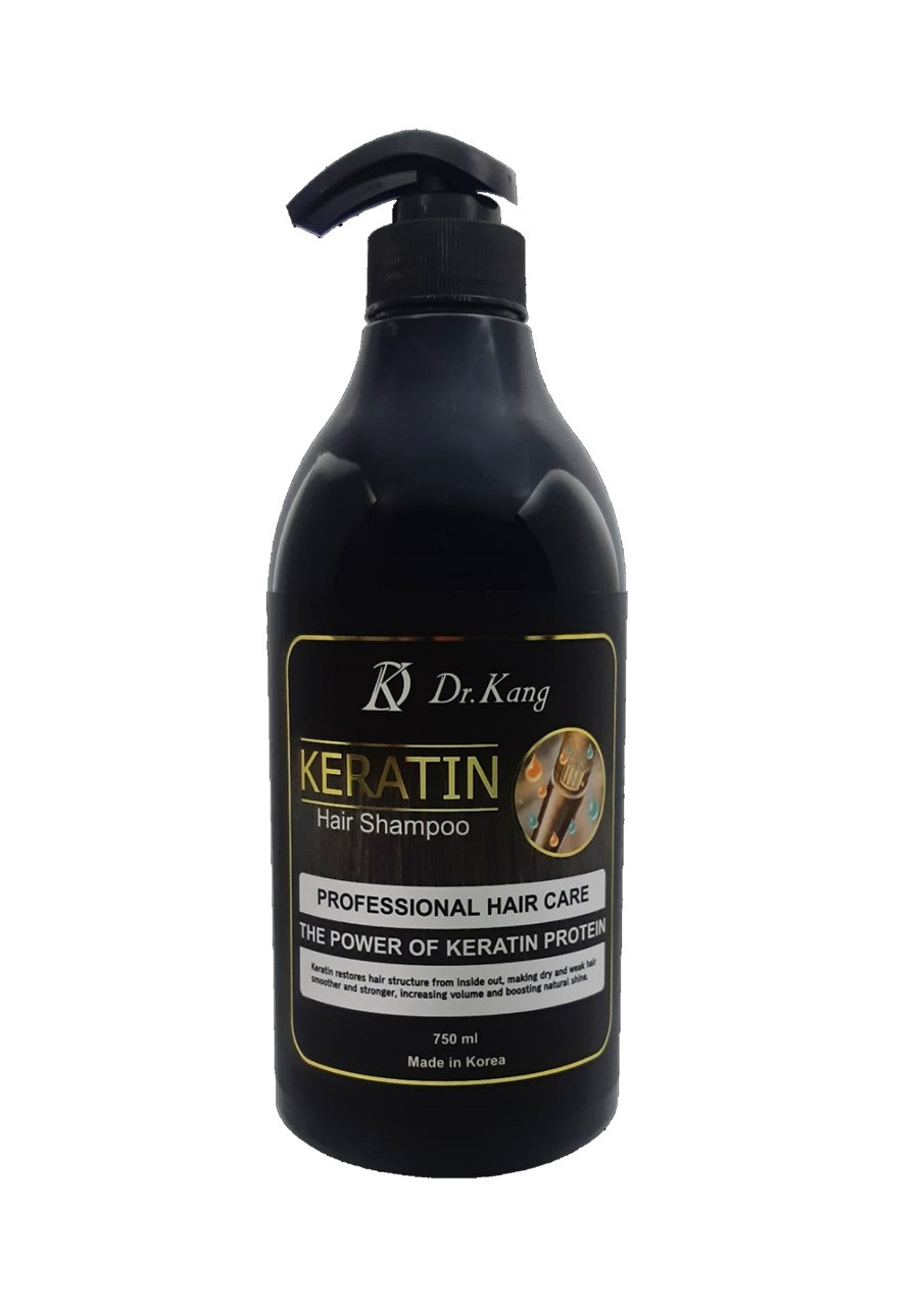 Dr.Kang KERATIN PROFESSIONAL HAIR SHAMPOO – Профессиональный шампунь с Кератином 750 мл